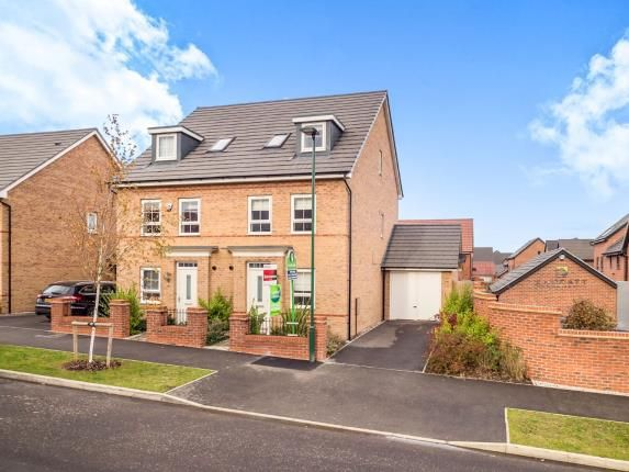 4 bed semi-detached house for sale in Princess Boulevard, Woodhouse Park Estate, Nuthall, Nottingham