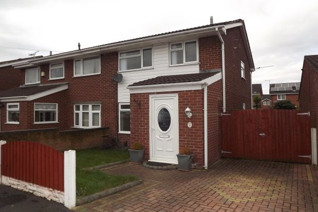 Thumbnail Semi-detached house to rent in Cheviot Way, Kirkby, Liverpool