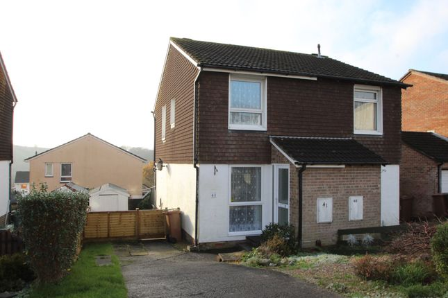 Thumbnail Semi-detached house to rent in Maddock Drive, Plympton, Plymouth