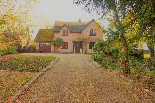 Thumbnail Detached house for sale in Redwick, Caldicot