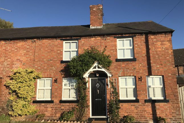 Thumbnail Semi-detached house for sale in Bank House Lane, Wem, Shrewsbury