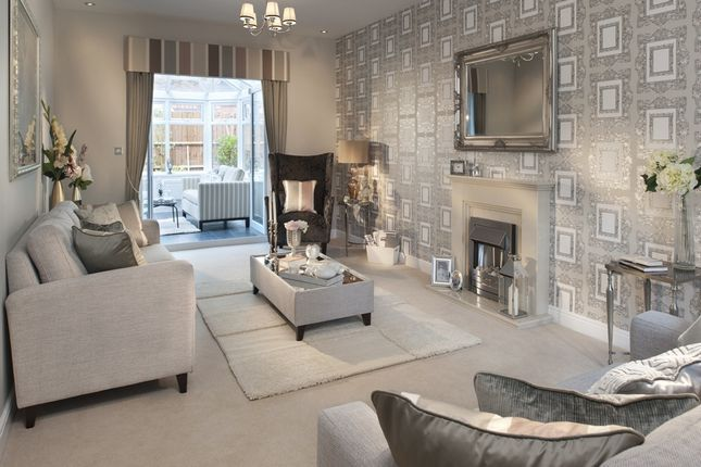 """Thumbnail 3 bedroom terraced house for sale in """"The Sutton """" at Stowmarket Road, Great Blakenham, Ipswich"""