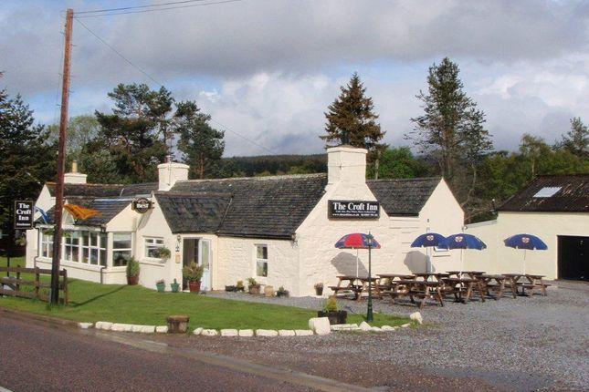 Thumbnail Restaurant/cafe for sale in The Croft Inn, Glenlivet