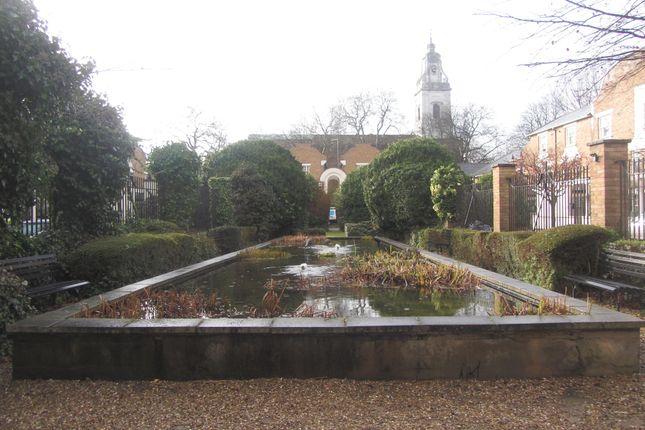 Outside Area of Sutton Square, Hackney E9