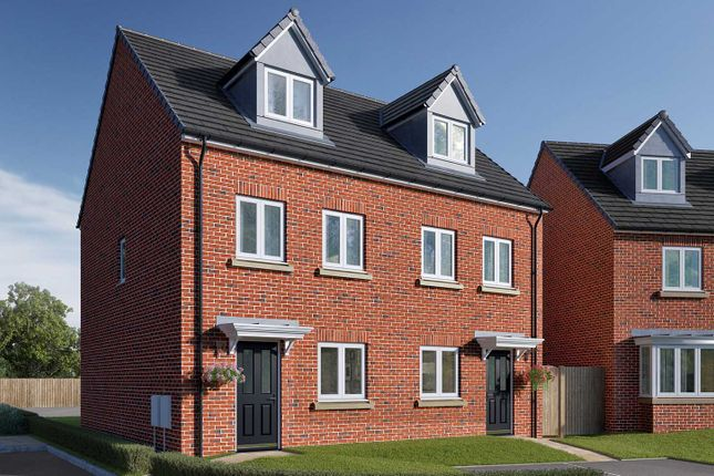 """3 bed semi-detached house for sale in """"The Wyatt"""" at Roecliffe Lane, Boroughbridge, York YO51"""