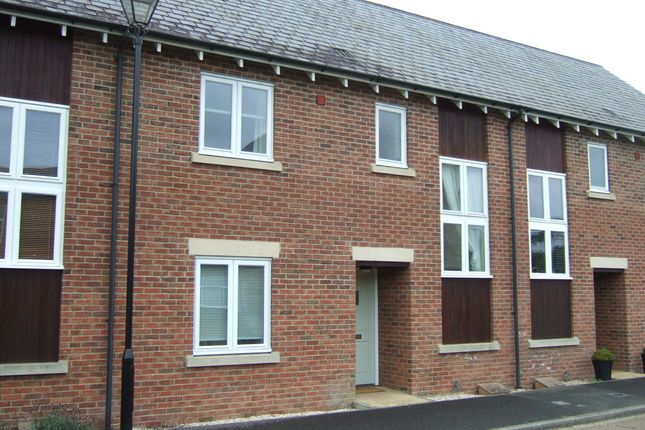 Thumbnail Terraced house to rent in Morbae Grove, Pymore, Bridport