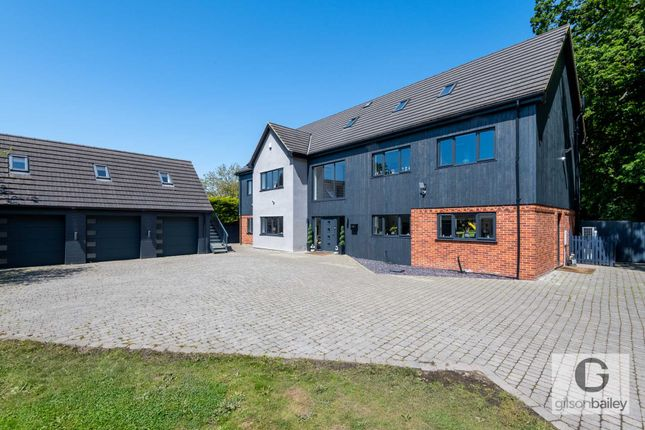 Thumbnail Detached house for sale in Church Road, Blofield