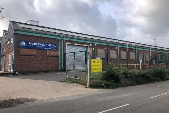 Thumbnail Light industrial to let in Unit 2, Exhall Works, Blackhorse Road, Exhall, Coventry