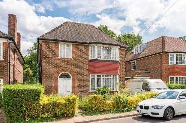 Thumbnail Detached house for sale in Rowan Walk, Hampstead Garden Suburb, London