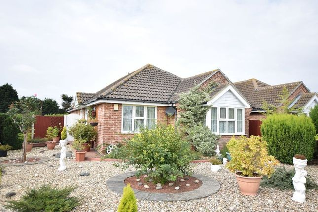 Thumbnail Detached bungalow for sale in Orchard Drive, Great Holland, Frinton-On-Sea