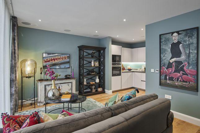 Thumbnail Flat for sale in Bond Mansions, Portobello Square, London