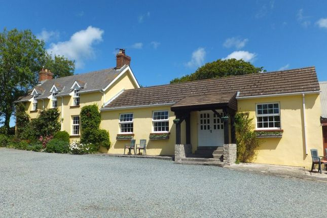 Thumbnail Farmhouse for sale in Walwyns Castle, Haverfordwest