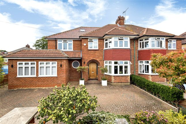 Thumbnail Semi-detached house for sale in Woodlands Avenue, Ruislip, Middlesex