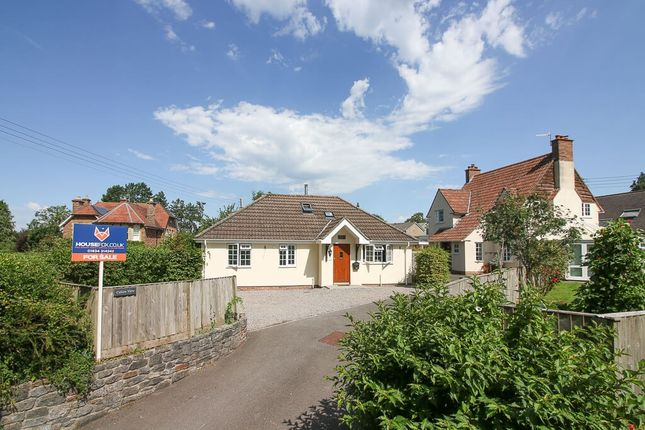 Thumbnail Detached bungalow for sale in Sidcot Lane, Winscombe