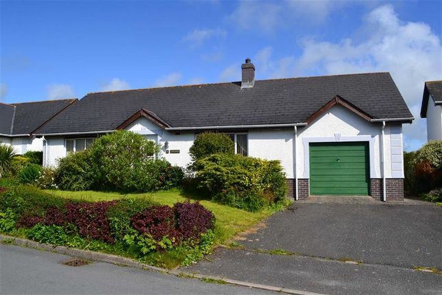 Thumbnail Detached bungalow for sale in Parc Ffos, Aberaeron, Ceredigion