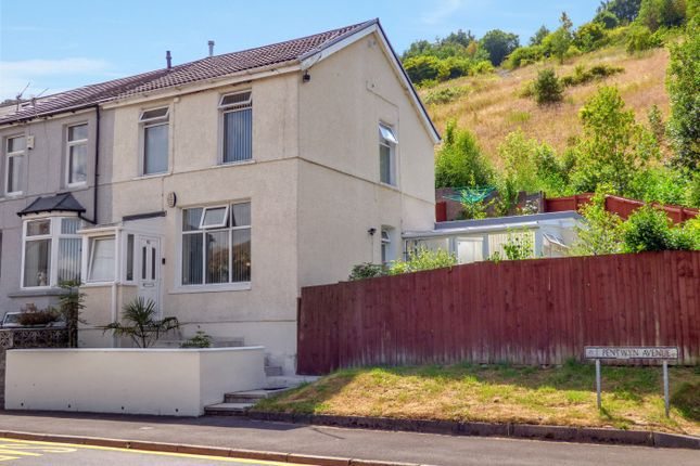 Thumbnail Terraced house for sale in Pentwyn Avenue, Mountain Ash, Mid Glamorgan