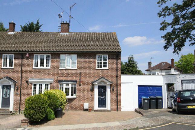 Thumbnail End terrace house for sale in Laurel Drive, London