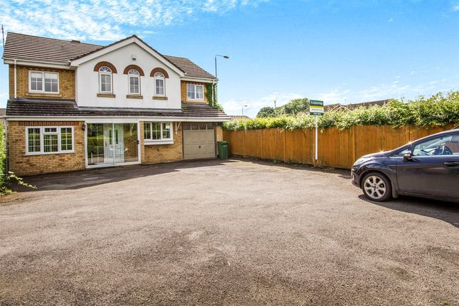 Thumbnail Detached house for sale in Hill Field, Oadby, Leicester