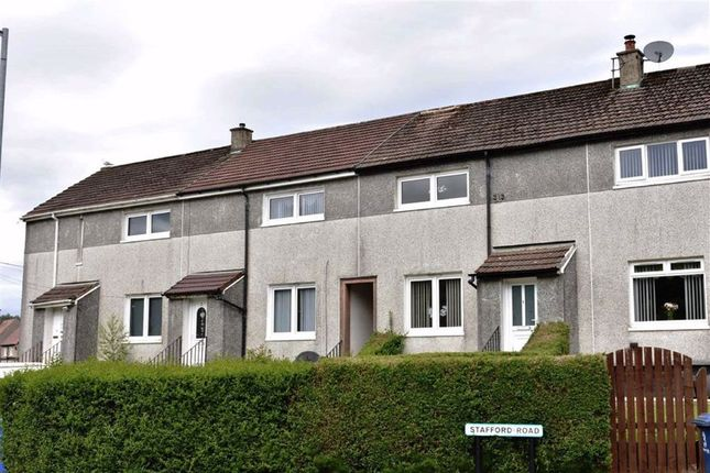 Thumbnail 2 bedroom terraced house for sale in 1, Stafford Road, Greenock, Renfrewshire
