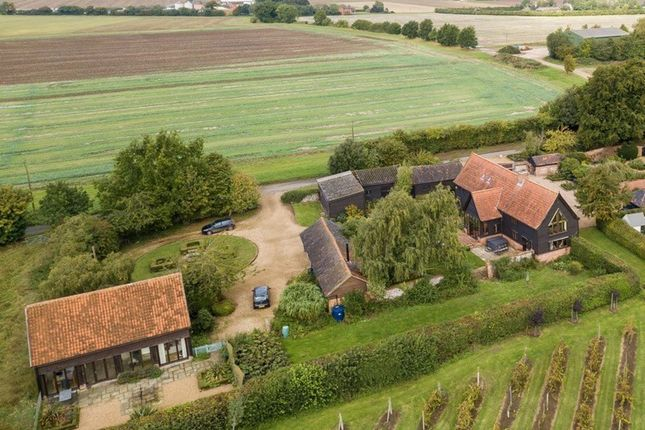 Thumbnail Barn conversion for sale in High Street, Thelnetham, Diss