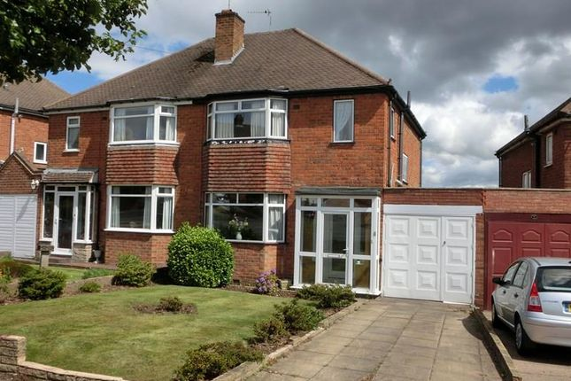 3 bed semi-detached house for sale in Windmill Road, Shirley, Solihull