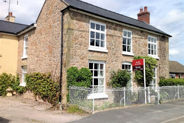 Thumbnail Detached house to rent in Maesbrook, Maesbrook