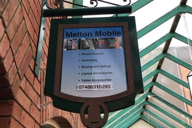 Retail premises for sale in Bell Centre, Nottingham Street, Melton Mowbray
