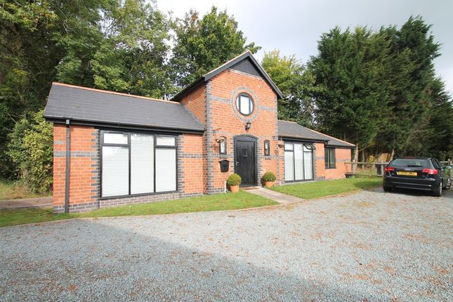 Thumbnail Detached bungalow for sale in Alcester Road, Wythall, Birmingham