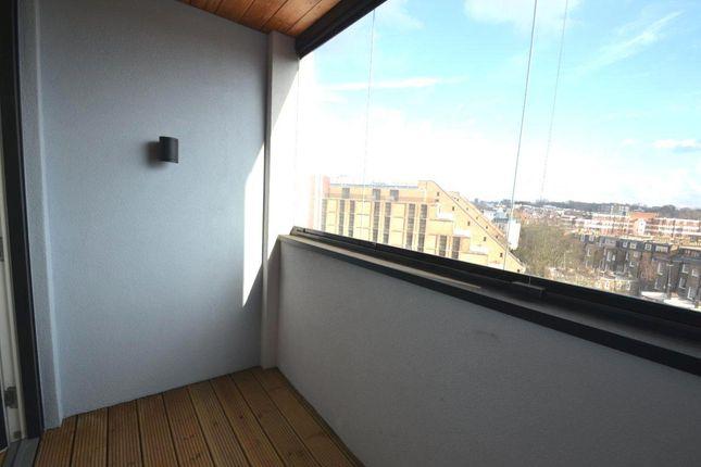 Balcony of Holland Park Avenue, London W11