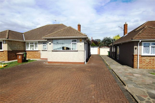 Thumbnail Semi-detached bungalow for sale in Montgomery Close, Sidcup, Kent