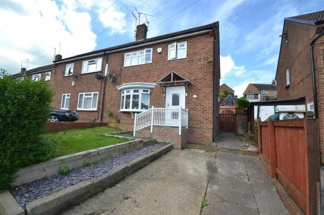Thumbnail Semi-detached house for sale in Dalkeith Road, Wellingborough, Northamptonshire