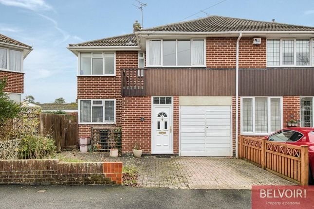 Thumbnail Semi-detached house for sale in Lindsey Crescent, Kenilworth