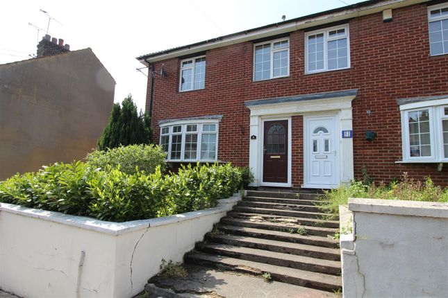 Thumbnail End terrace house to rent in High Street, Milton Regis, Sittingbourne