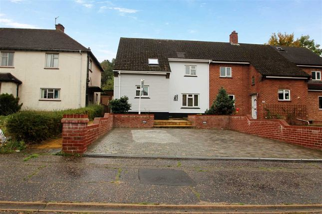Thumbnail Semi-detached house for sale in Hubert Road, Lexden, Colchester