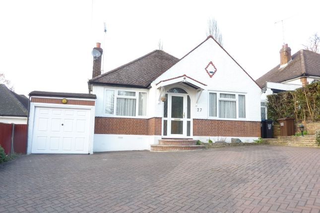 Thumbnail Detached bungalow to rent in Hawkshead Lane, North Mymms, Herts
