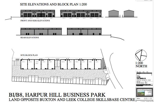 Thumbnail Light industrial to let in Harpur Hill Business Park, Buxton