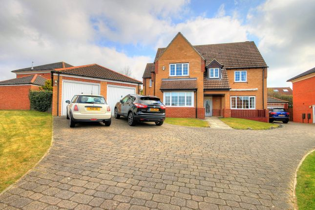 Thumbnail Detached house for sale in Weymouth Drive, Houghton Le Spring