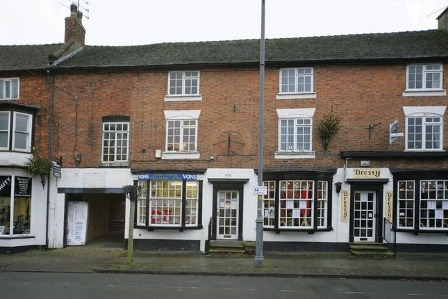 Thumbnail Flat to rent in 5A High Street, Eccleshall, Staffordshire