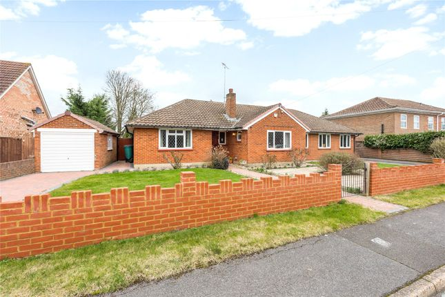 Thumbnail Detached bungalow for sale in Sherbourne Drive, Windsor, Berkshire