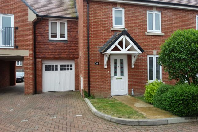 Thumbnail Terraced house to rent in Hedley Way, Hailsham