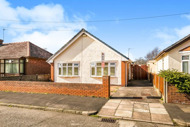 Thumbnail Detached bungalow for sale in Eleanor Road, Moreton, Wirral