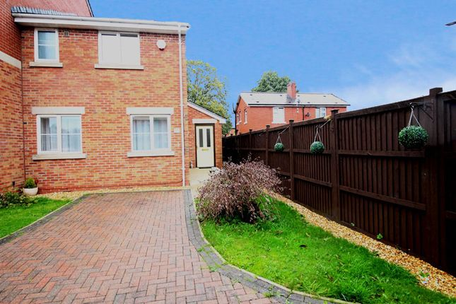 Thumbnail End terrace house for sale in Hayling Close, Bury