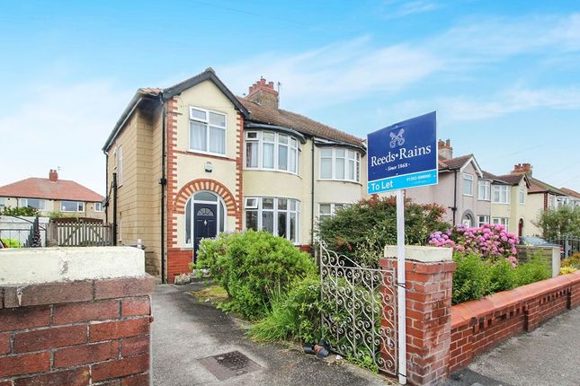 Thumbnail Semi-detached house to rent in Cleveleys Avenue, Thornton-Cleveleys