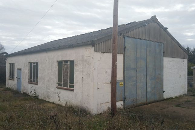 Thumbnail Industrial to let in Mill Road, Newbourne, Ipswich