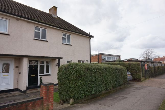 Thumbnail Semi-detached house for sale in Lanark Road, Ipswich