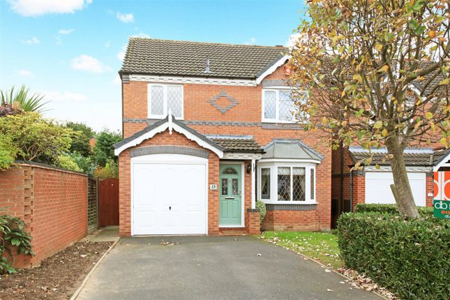 Thumbnail Detached house for sale in Ravensdale Drive, Muxton, Telford
