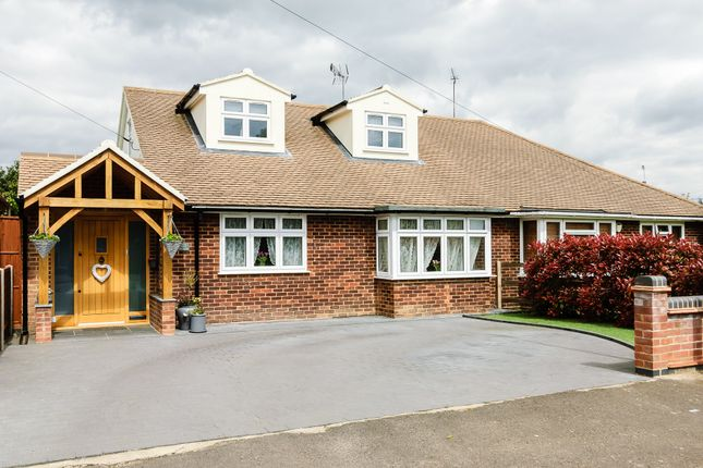 Thumbnail Semi-detached house for sale in Lilian Crescent, Brentwood, Essex