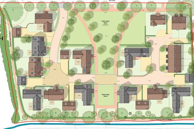 Site Plan For Rm of High Street, Scampton, Lincoln LN1