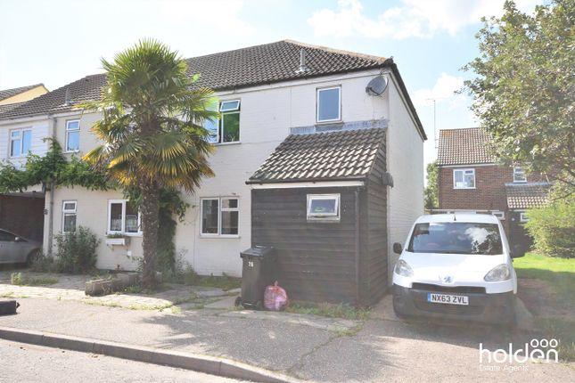 Thumbnail End terrace house for sale in Hunt Avenue, Heybridge, Maldon