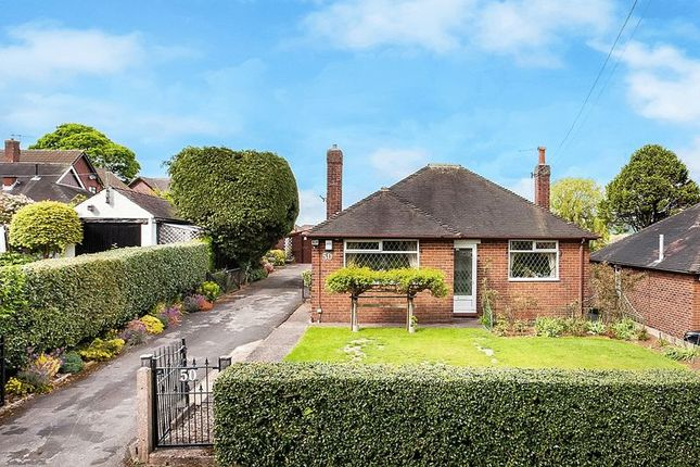 Thumbnail Detached bungalow for sale in Mow Lane, Gillow Heath, Staffordshire